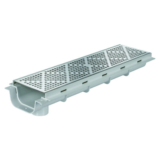 Multikwik Stainless Steel Cover Continous Channel