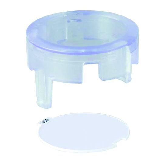 Set of Transparent Service Plugs & PVC Tag Holders