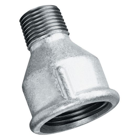 Galvanised Reducing Socket Male-Female BSPT-BSPP