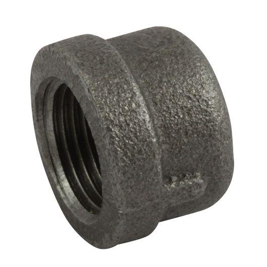 Black Round Cap BSPP