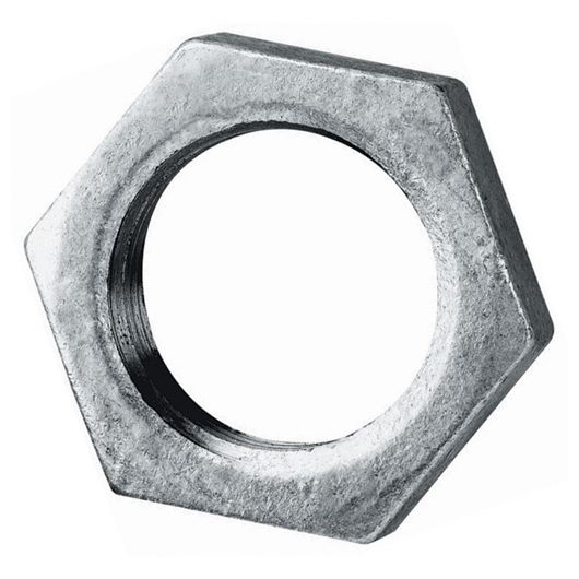 Galvanised Backnut BSPP