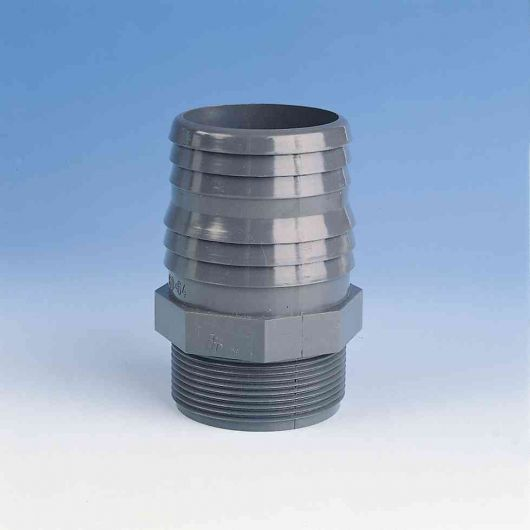 TP PVC-U Hose Adaptor Threaded
