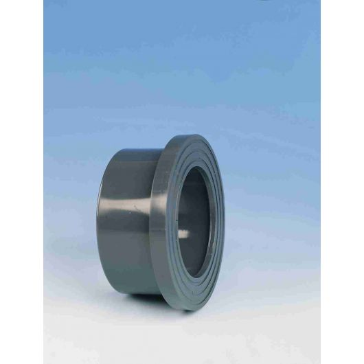 TP PVC-U Stub Flange Serrated Face