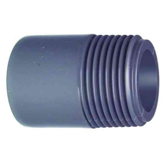 TP PVC-U Barrel Nipple Plain- Threaded