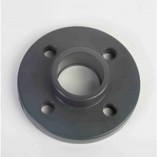 PVC Full Face Flange Plain- Drilled