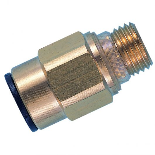 Adaptor Male Thread Brass