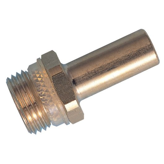 Adaptor Thread Stem Brass