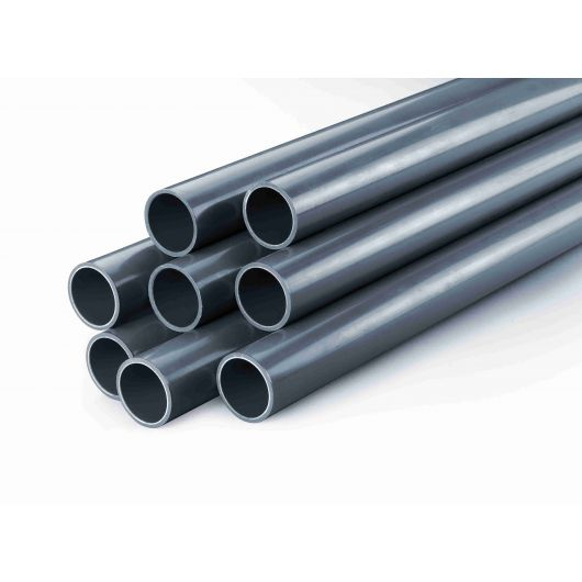 Optima 5 Metre PVC Pipe 10 Bar Plain End