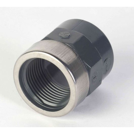 PVC Socket Plain- BSP with Metal Ring