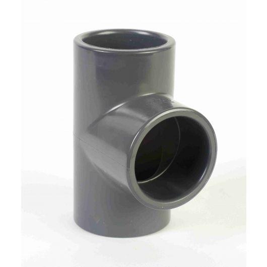 PVC 90 Degree Tee Plain