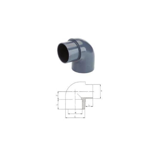 TP PVC-U 90 Degree Elbow M-F