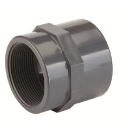 TP PVC-U Adaptor Socket Plain- Threaded