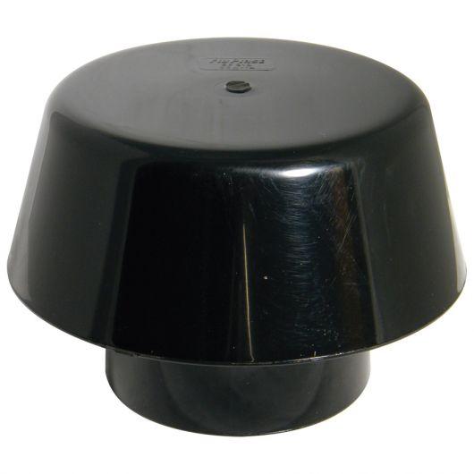FloPlast Black PVC-U Extract Cowl