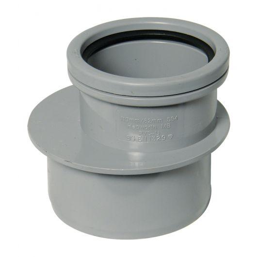 FloPlast Grey PVC-U Reducer
