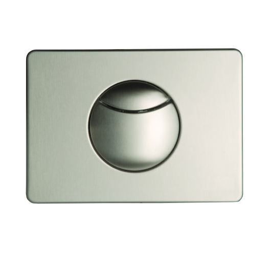 Multikwik Stainless Steel Crescent Dual Flush