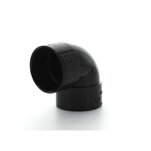 ABS Double Socket Bend 90 Deg
