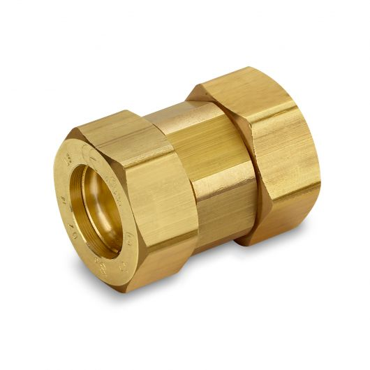 Gastite Brass Coupling