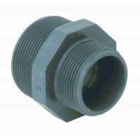 Durapipe PVC-U Nipple Hexagon Nut Threaded 1 1/2 inch