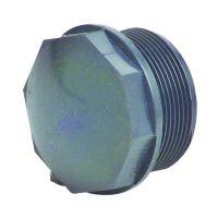 Durapipe PVC-U Threaded Plug 1 1/2 inch