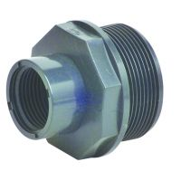 Durapipe PVC-U Male Female Threaded Reducer 1 1/2 x 1 1/4 inch