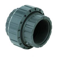 Durapipe PVC-U Socket Union Plain Threaded EPDM 1/2 inch