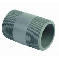 Durapipe PVC-U Barrel Nipple Threaded/Threaded 3/4 inch