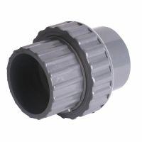 "Durapipe ABS SuperFLO Socket Union Plain EPDM 75mm/2 1/2"""