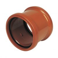 FloPlast D105 Coupling Double Socket 110mm