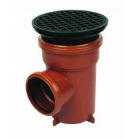 FloPlast D510 Bottle Gully Circular Grid