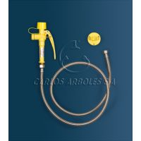 Arboles Wall Mounted Eye Wash With Flexible Hose
