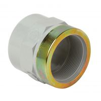 Corzan Adpt Socket Plain/BSP F.I., Reinforced 40mm X 1 1/4""