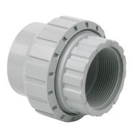 Durapipe Corzan Socket Union Plain Threaded 63mm X 2""