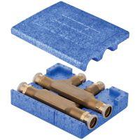 Mapress Tee Crossing w/ Insulation Box d22mm d1=18mm d2=22mm