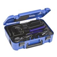 Geberit Mepla hand-operated pressing tool set cased 16&20mm
