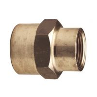 +GF+ PVC-U Adapt Socket Brass/ F 40mm - 1 1/4""