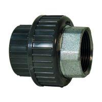 "+GF+ PVC-U Union MI EPDM 40mm - Rp1 1/4"""