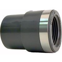 "+GF+ PVC-U Reducing Bush 25mm - 1/2"""