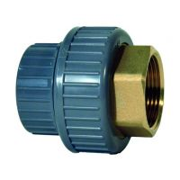 +GF+ ABS Adaptor Union Brass Female Thread 20mm - 1/2""