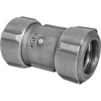 "GF Primofit Black Short Coupling Steel x PE NBR 3/4"" x 25mm"