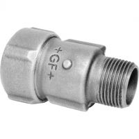 GF Primofit Galv. Male Adaptor for PE NBR 20mm x R 1/2""