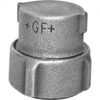 GF Primofit Galv. Cap for PE NBR 20mm