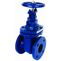 ART210 Cast Iron Table E & D Flanged Gate Valve 6""