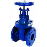 ART235 Cast Iron PN16 Flanged Gate Valve BS 5157 6""