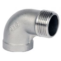 ART90MF St.St. 90° M/F Elbow 1/8""