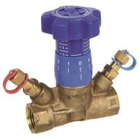 ART28 DZR Brass Variable Orifice Commisioning Valve 1/2""