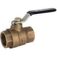 ART345 2 Piece Bronze Ball Valve BSP Taper F/F Ends 1/2""