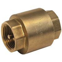 ART66 Brass Spring Check Valve Par. Female Ends 3/8""
