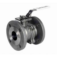 ART926 2-Pc St.St. Ball Valve Flanged PN16/40 4""