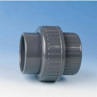 TP PVC-U Union with O-Ring EPDM 16mm
