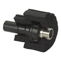GF Cool-Fit 2.0 Adaptor Union PE-St.St. w/ M.I. d63-2""